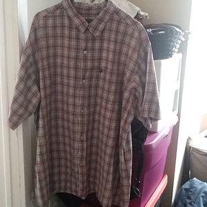 Men's button-down shirt